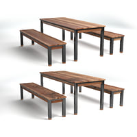 Designer Seating Set with two textures