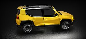 3D jeep renegade