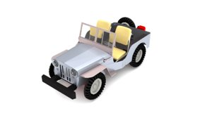 willys jeep 3D