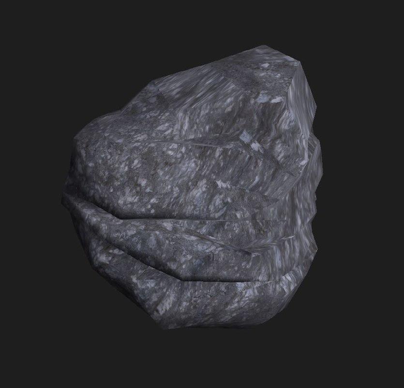3D rock 10