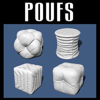 pouf interiors model