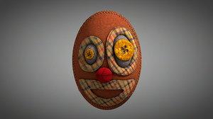 3D model rag ragdoll