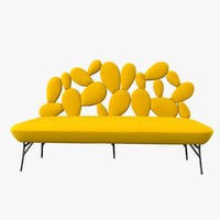 3D cactus sofa pont des model