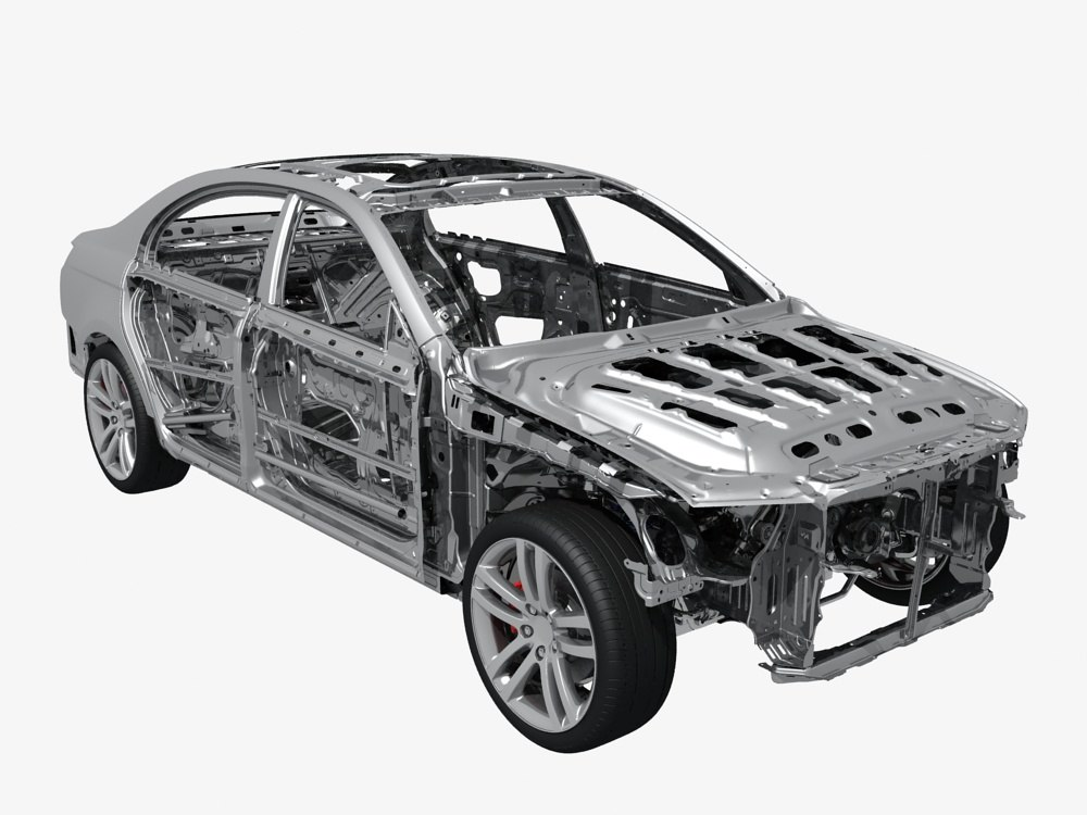 Car Frame 3D Models for Download | TurboSquid