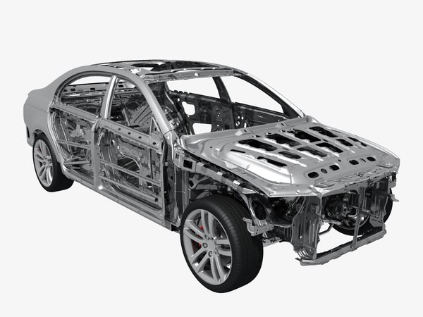 3D body car frame