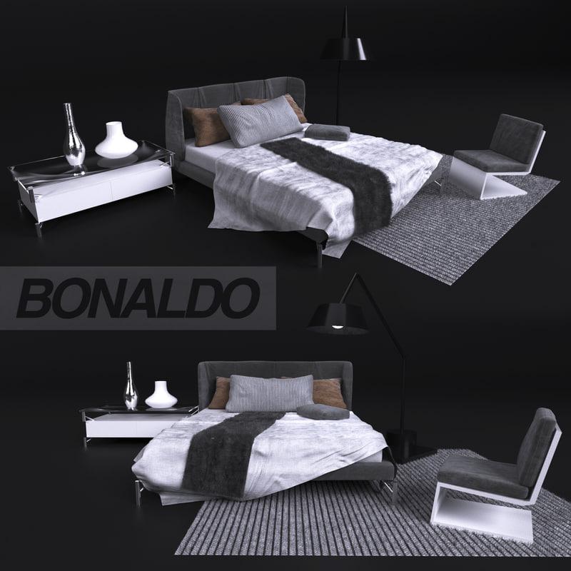 bed bonaldo 3D model