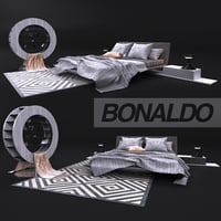 Comfortable bed, Bonaldo