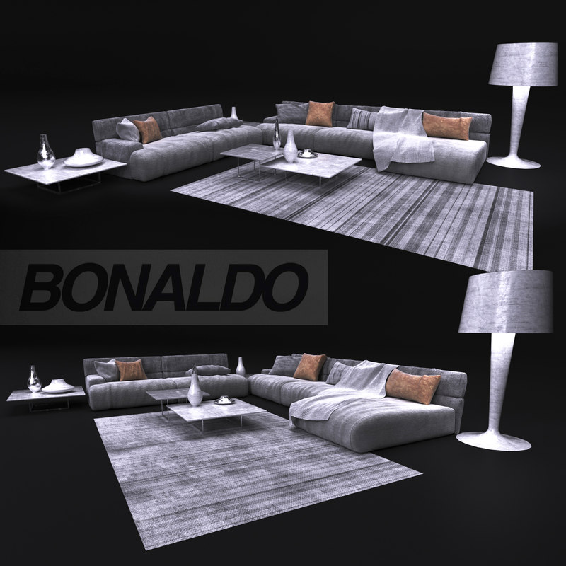 3D sofa bonaldo model