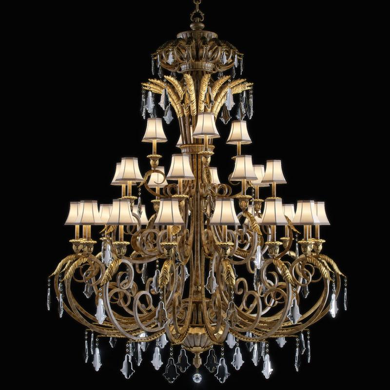 ravenna chandelier 3D model