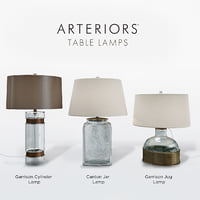 3D table lamps model