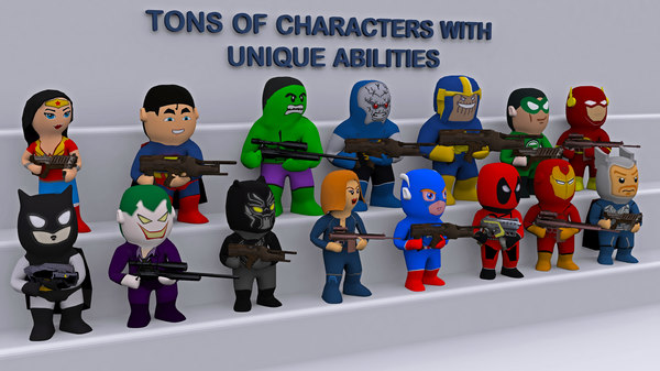 3D model characters games