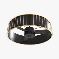 3D model ceiling fan - hanter