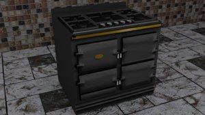 kitchen vintage 3D
