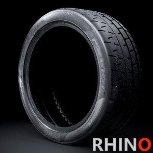 3D pirelli trofeo r sidewall