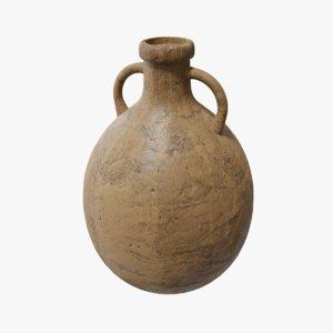 ancient amphora pbr 3D model