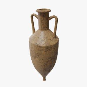 3D model ancient amphora pbr