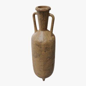 ancient amphora pbr 3D