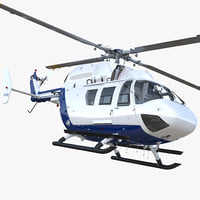 3D medium utility transport helicopter