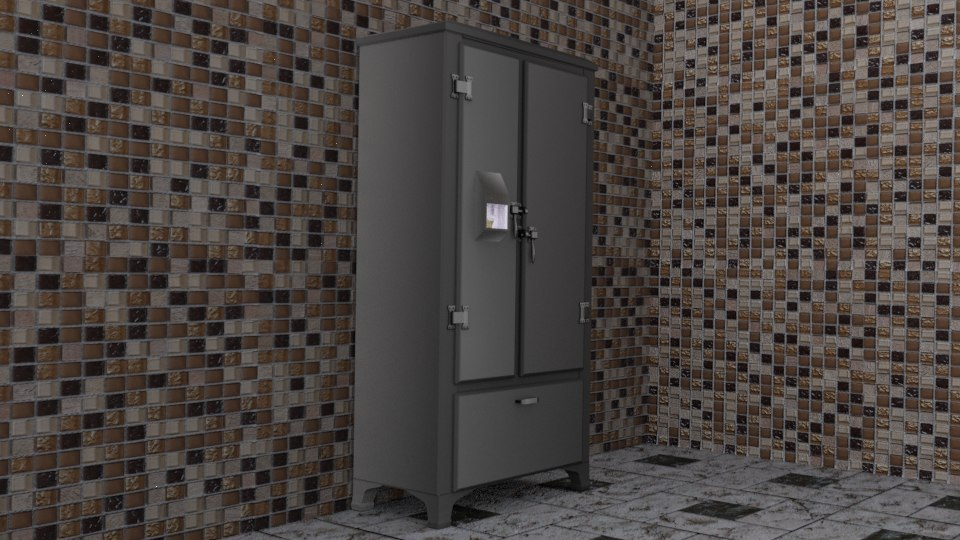 fridge frid 3D model