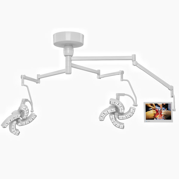 surgical lights steris 3D model