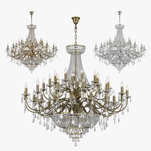 chandelier 700511 700512 700514 3D model
