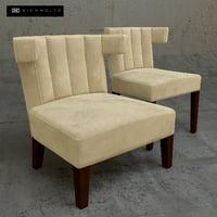 chair bellotti 3D model