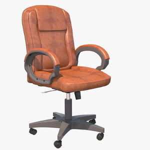 classic office chair 3D model