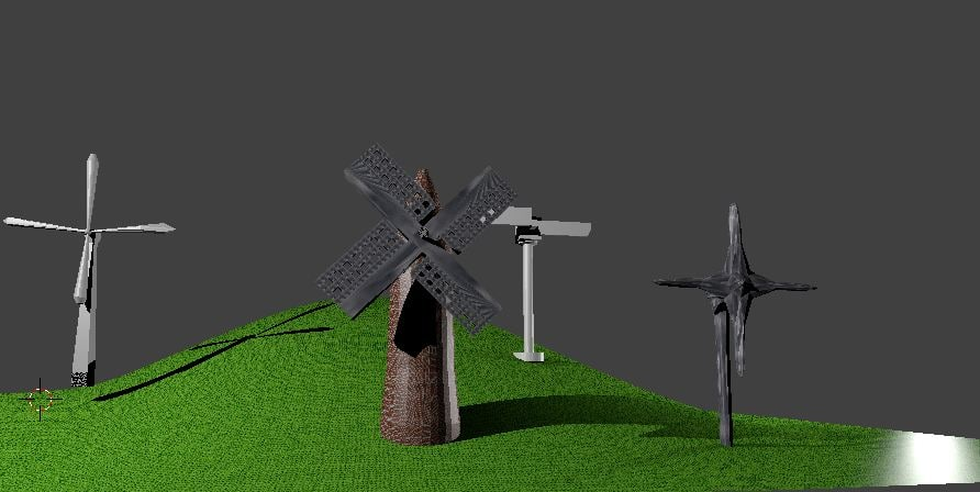 3D windmills