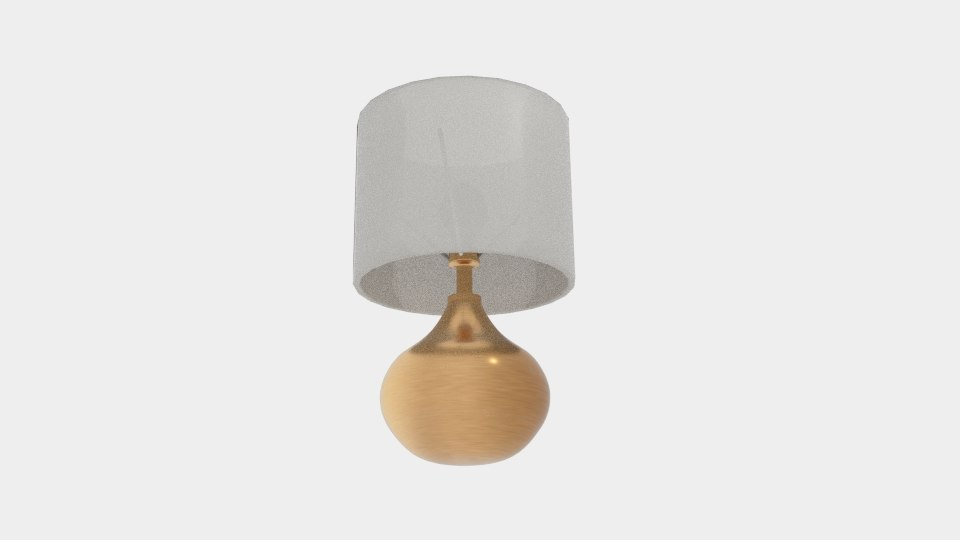 3D touch 36cm table lamp