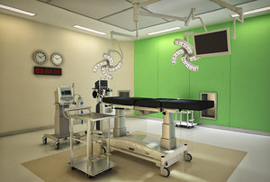 surgery room model