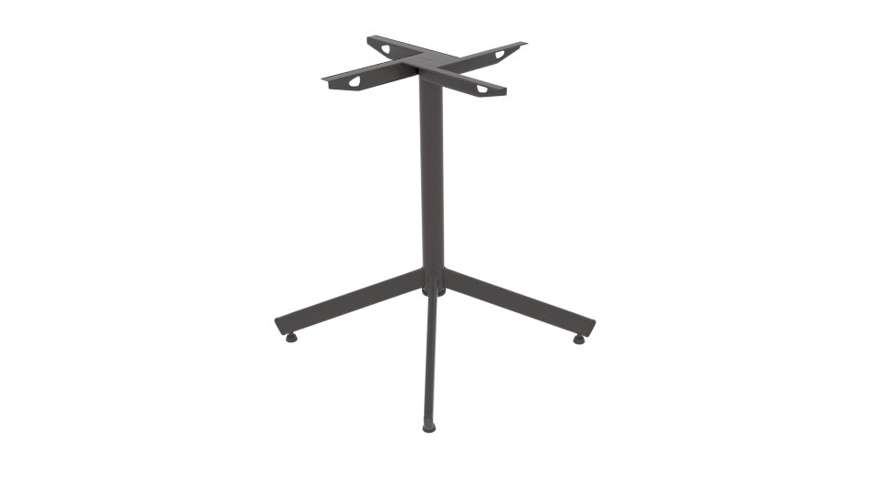 stable classic table base 3D model