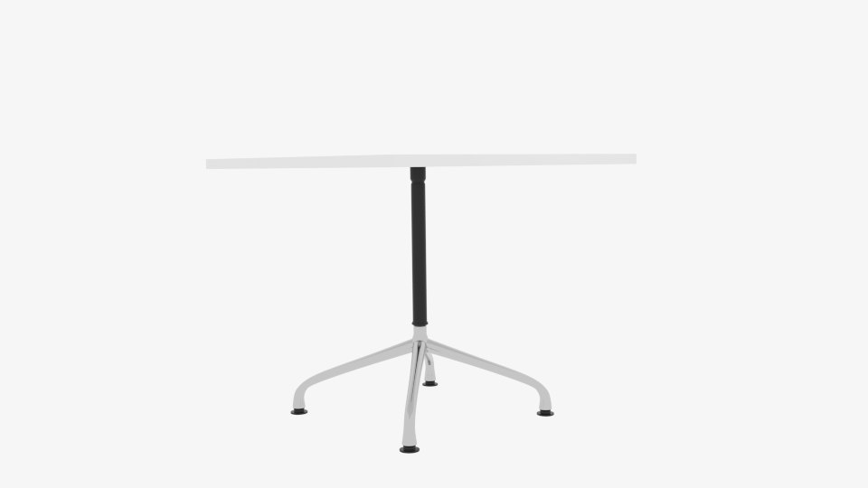 3D vitra contract table