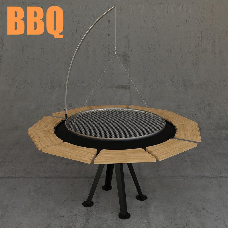 bbq 3D