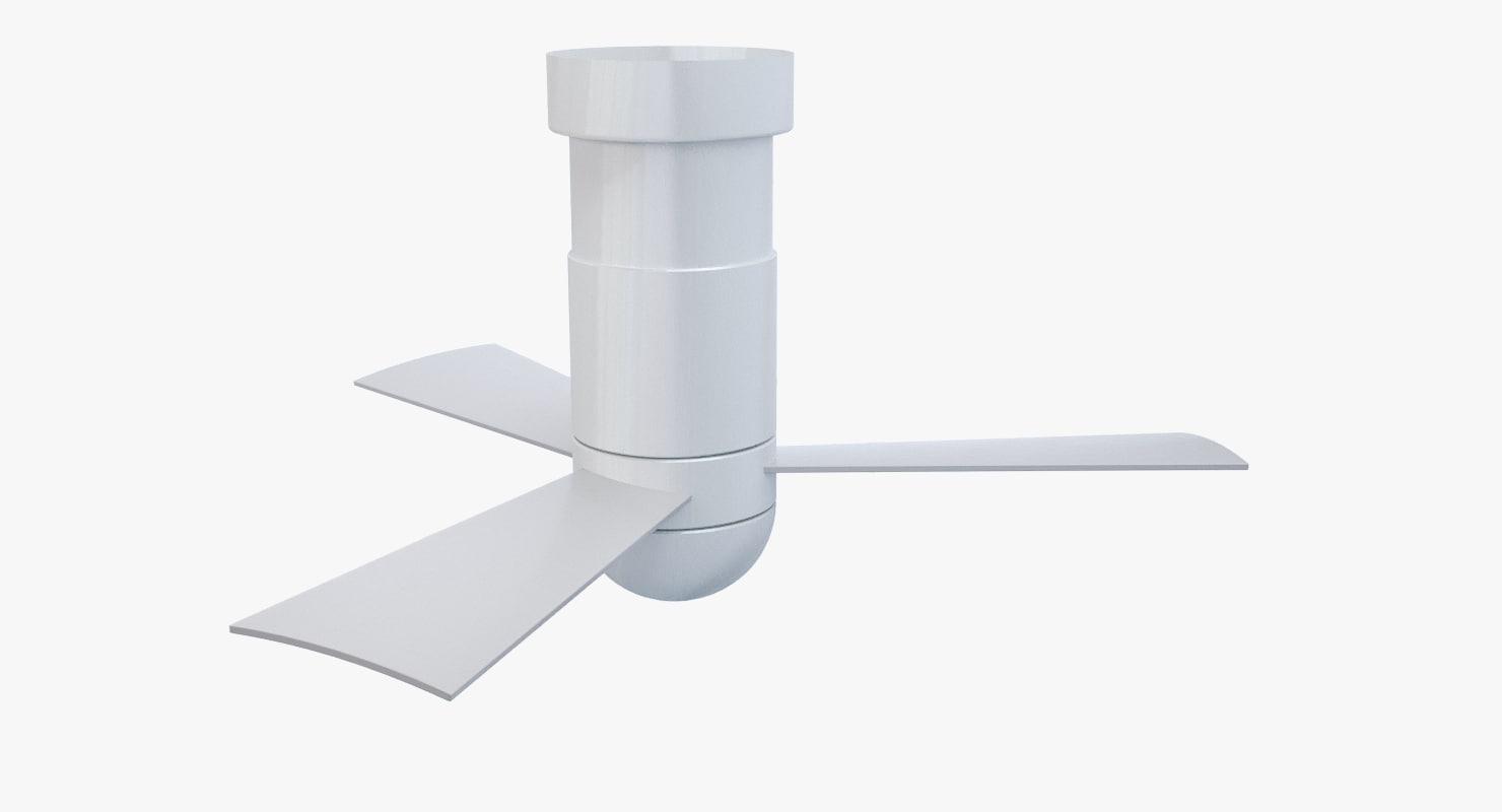 3D model modern ceiling fan