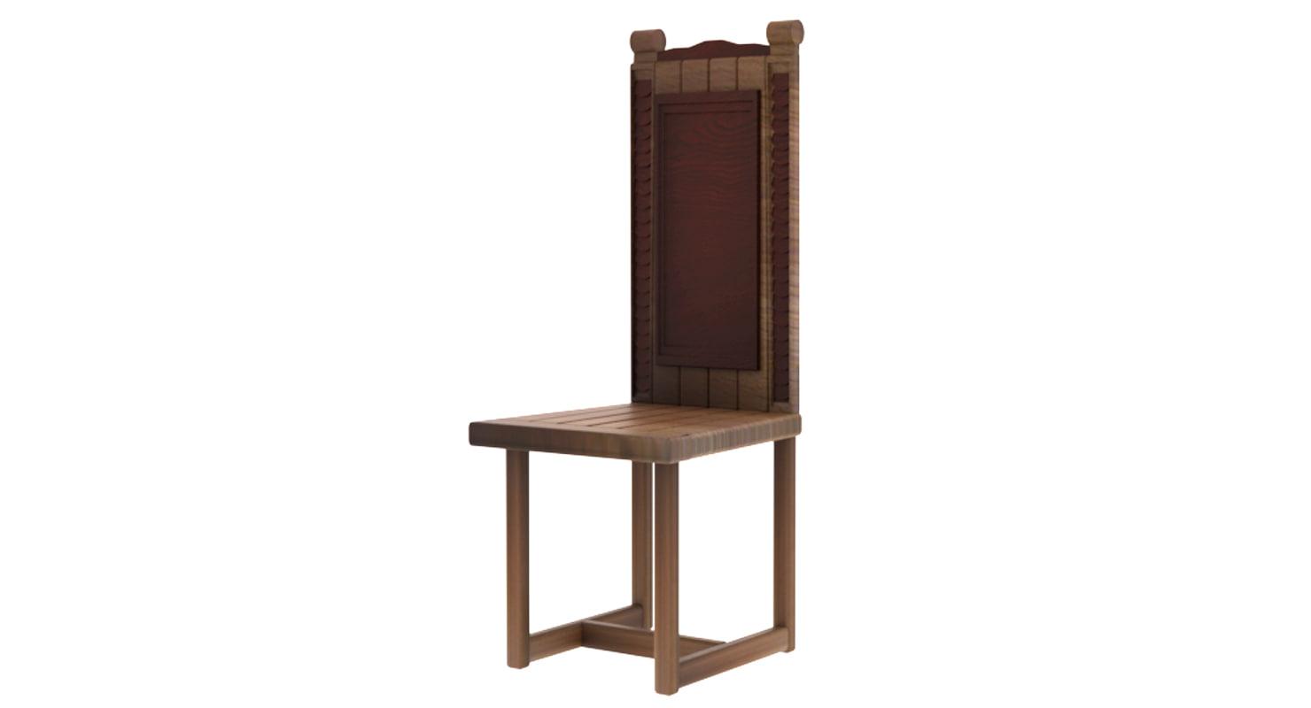 dinning chair 3D