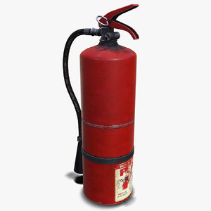 extinguisher polys 3D model