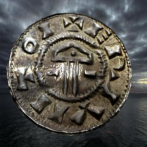 3D ancient coin model