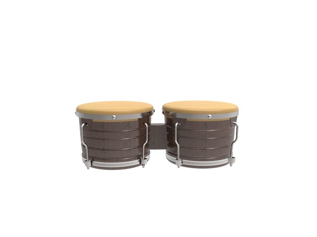 3D bongo model