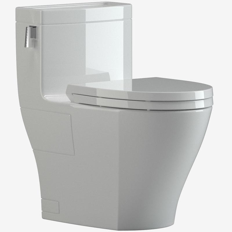 toto legato ms624214cefg toilet 3D