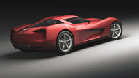 corvette stingray concept model