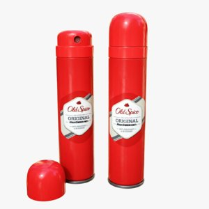 3D octane spice spray model