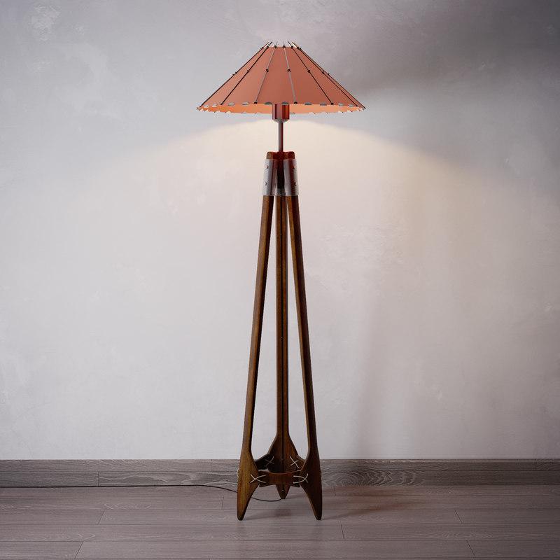 floor lamp model