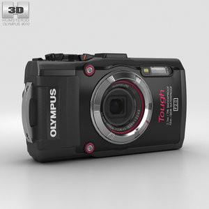 olympus tough tg-3 3D model