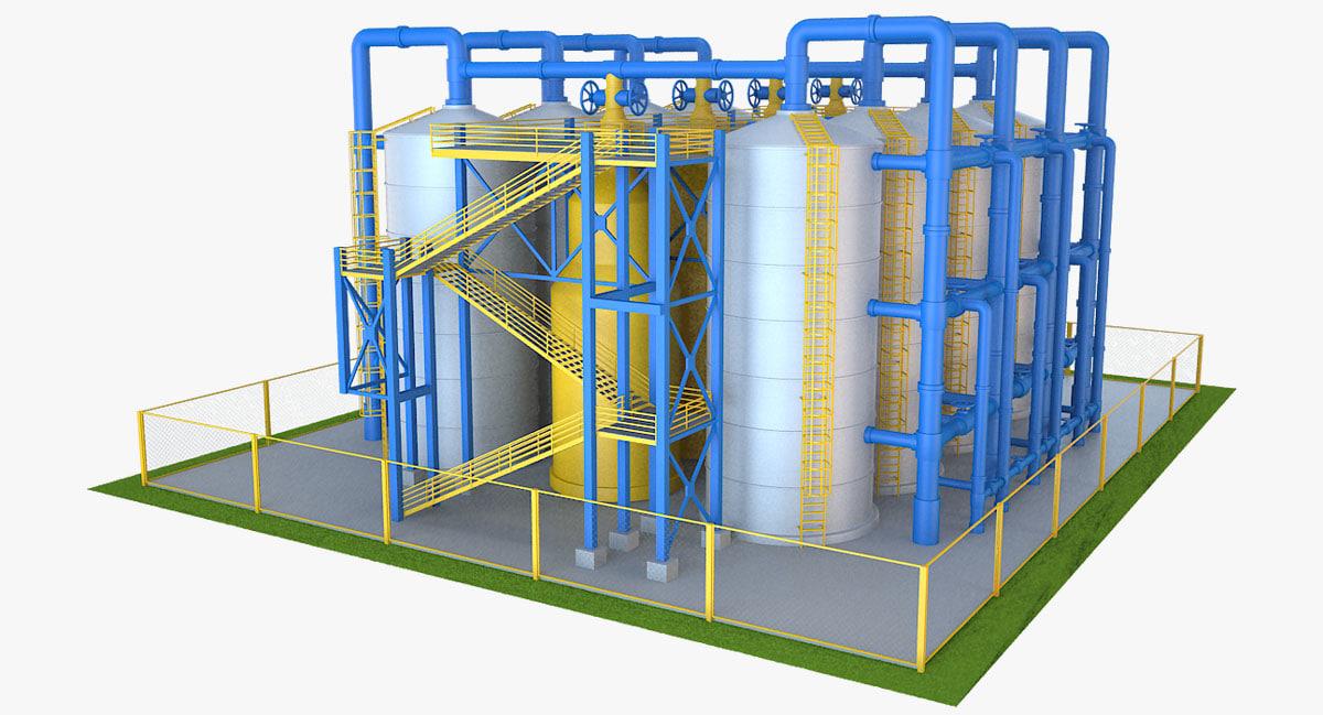 3D industrial equipment 2
