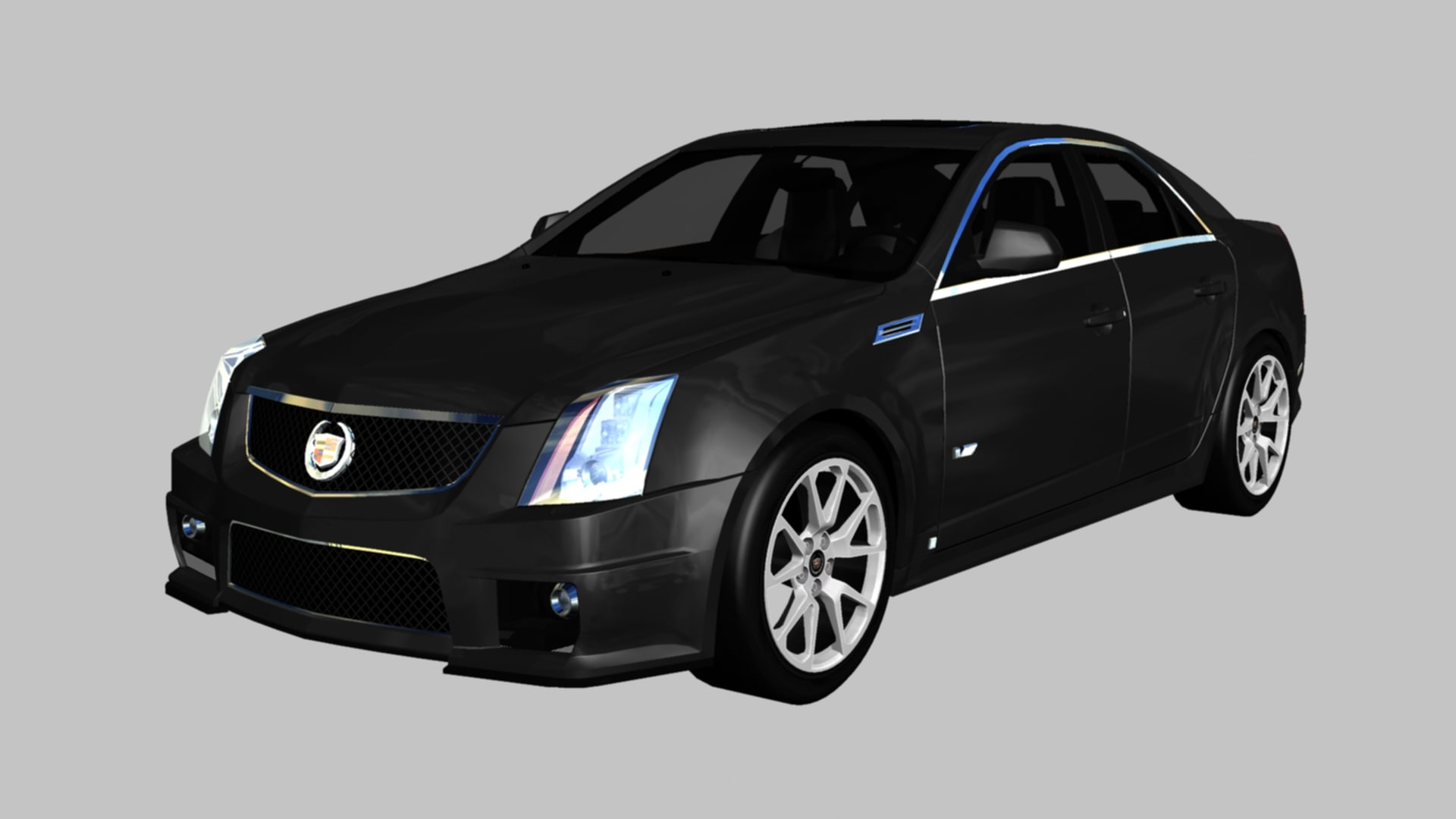 cadillac cts cts-v 3D model