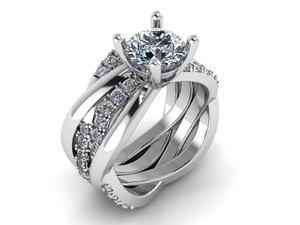 3D twist ring model