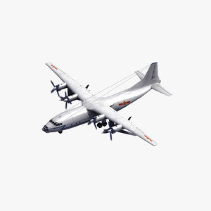 shaanxi y-8e cub carrier 3D model