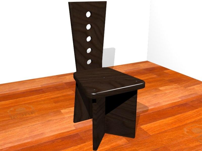 3D sedia