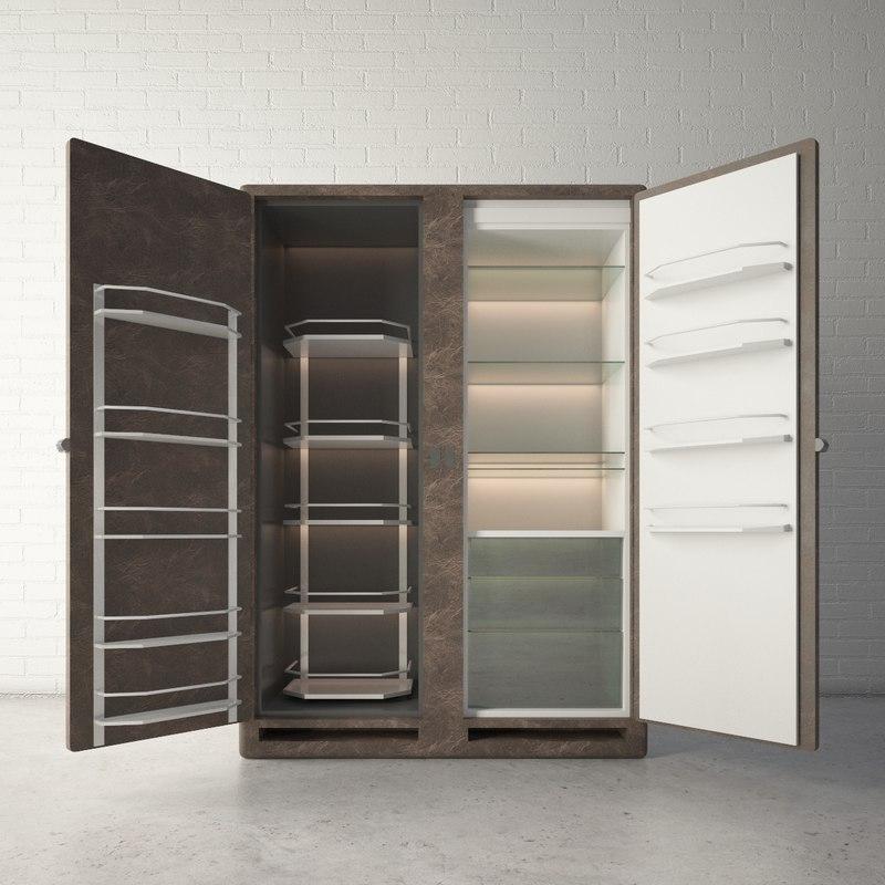 custom designed fridge model