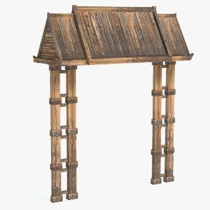 china arch model
